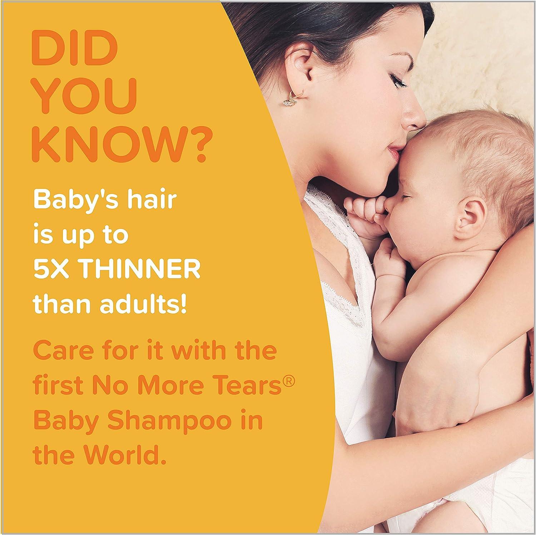 Johnson's Tear Free Baby Shampoo, Free of Parabens, Phthalates, Sulfates and Dyes, 27.1 fl. oz