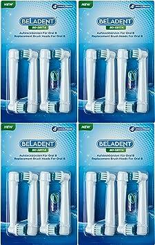 Aufsteckbürsten Aufsätze für Oral B elektrische Zahnbürsten Bürsten-Köpfe 16 Stück