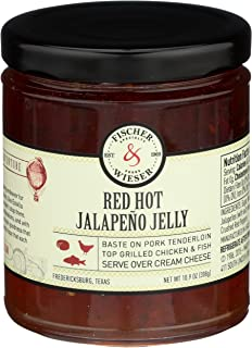 product image for Fischer & Wieser, Jelly Red Hot Jalapeno, 10.9 Ounce