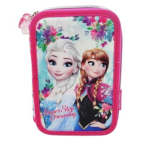 Disney Frozen Never Estuche Escolar Làpices de colores ...