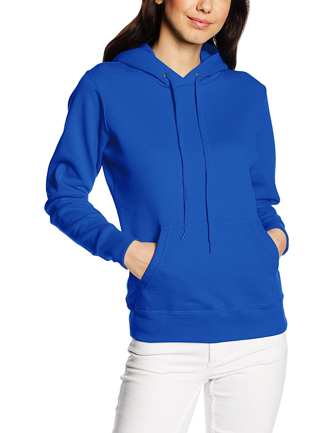 Fruit of the Loom Women's Pull-Over Classic Hooded Sweat 62-038-0