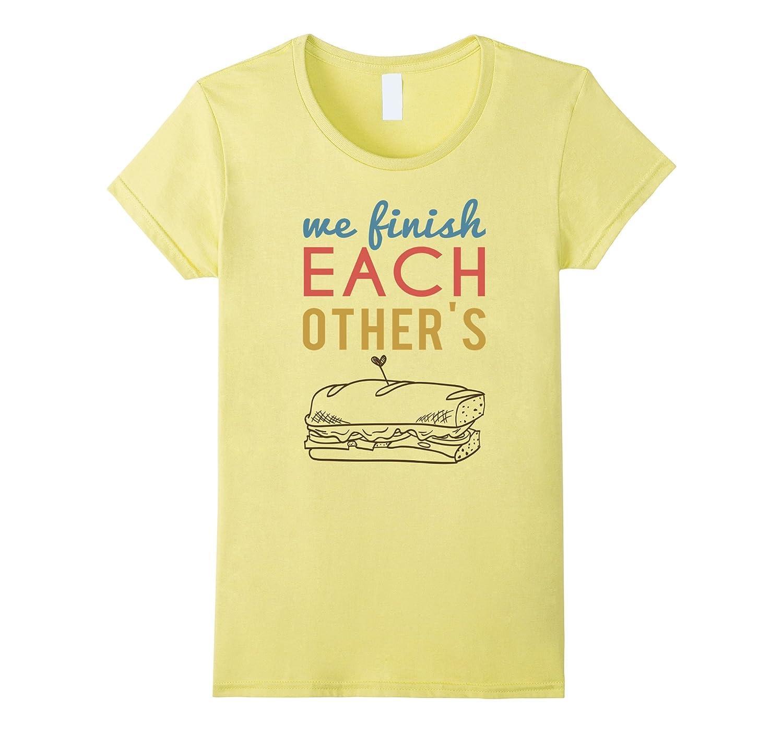 Matching Couples T Shirt 1 Sandwiches Bff Zany Brainy Teleout