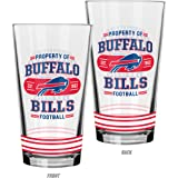 NFL Property of Mixing Glass, 2-Pack
