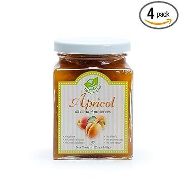 Amazon.com   Nature s Turn All Natural Apricot Preserves 12oz - 4 ... 6edc023fe3