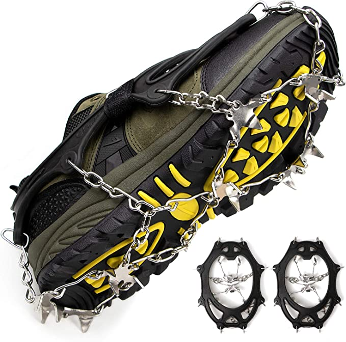 Details about  / Ice Cleats Traction Cleats for Boots Shoes Men Medium 5.5-7men//7-8.5women