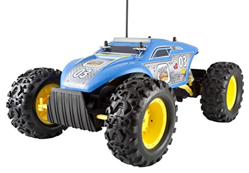 Blue Maisto Rock Crawler Extreme