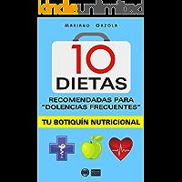 """10 DIETAS RECOMENDADAS para """"dolencias frecuentes"""": Tu botiquín nutricional"""