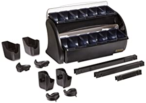 San Jamar BDS4206 Dome Stacker with 1/1 Dome and 1pt Standard Trays