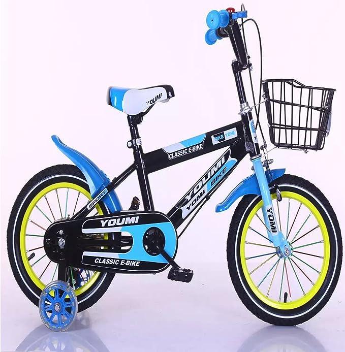 Bicicleta infantil de claro obridal 12/14/16 pulgadas Niños Cilindro de bicicletas de niño para el ocio y vacaciones ...