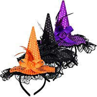 Diadema de Bruja Halloween Bruja Diadema Bruja Púrpura