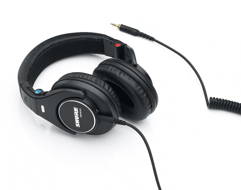 Shure SRH840 - Auriculares de diadema abiertos, negro