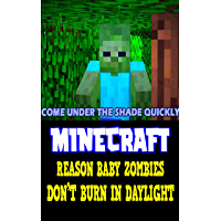 Minecraft Funny Story: Reason Baby Zombies Don't Burn in Daylight - Interesting Book