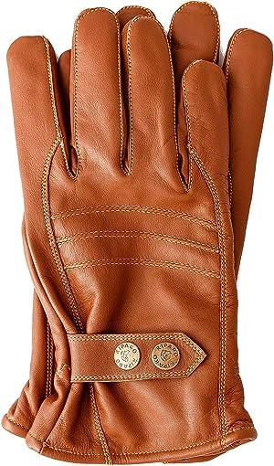 Riparo Men's Winter Italian Nappa Leather Dress Driving Riding Gloves Fleece Lining