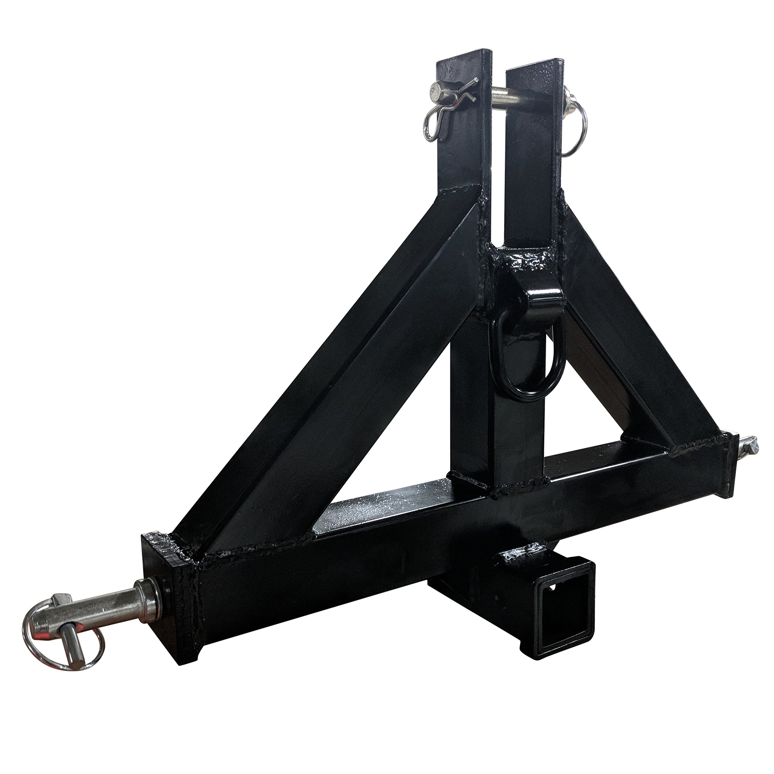 Titan Heavy Duty Category 1 3-Point 2'' Receiver Hitch | Quick Hitch Compatible by Titan Attachments