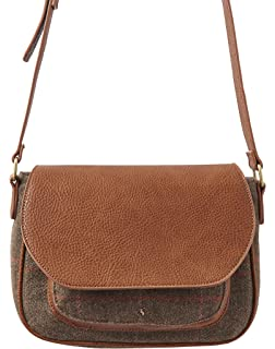 50908ed587 Joules Stratford Leather Cross Body Bag (Z) Oxblood One  Amazon.co ...