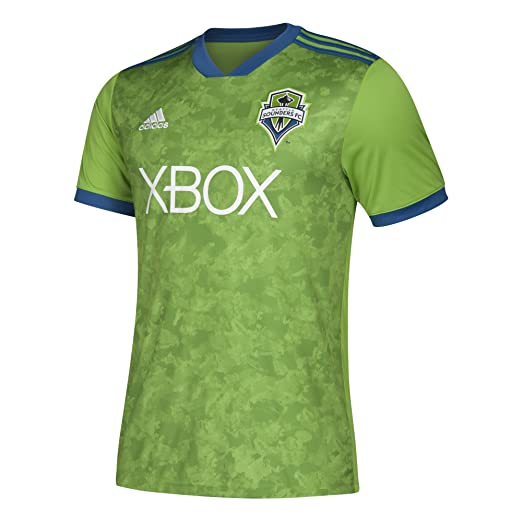 the best attitude bd757 f2677 Amazon.com: adidas Seattle Sounder Home Jersey 2018: Sports ...