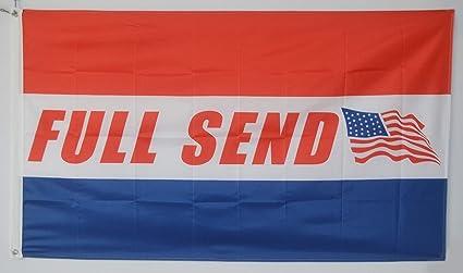 Amazon com : Annfly Full Send Banner Flag 3x5 Feet Nelk Nelkboys US