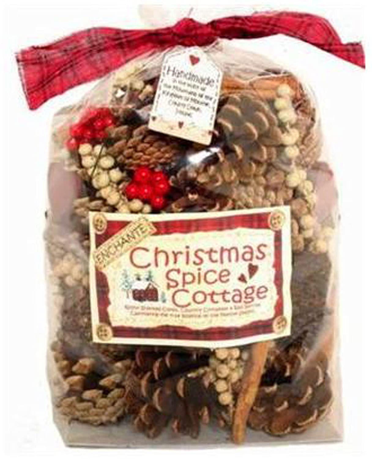 Christmas Spice Cottage Cones & Pods Scented Pot Pourri (large 500g in gift bag) Avena Christmas