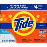 Tide HE Turbo Powder Laundry Detergent Original, 40 Loads, 56 oz- Pack of 2