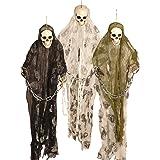 0.91 meters Halloween, Monster Prisoner Ghost Skeleton Ketten zum Aufhängen, Dekoration