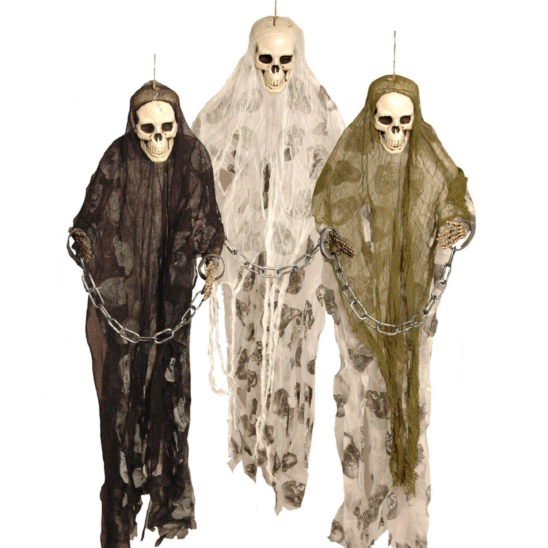 Halloween - Decorazioni per festa di Halloween, scheletri prigionieri pendenti, 91 cm Davies Products Ltd