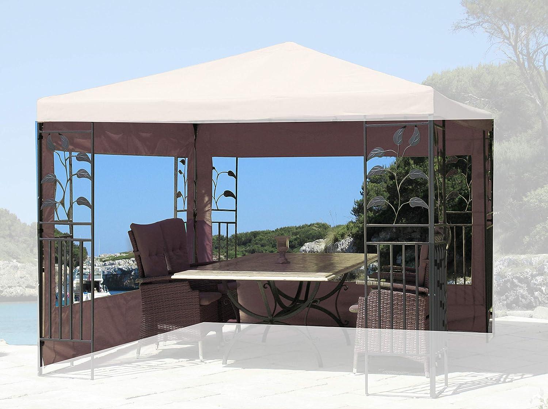 Quick-Star 2 Laterales con Ventana de PVC para Hojas Carpa 3 x 3 m ...