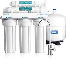APEC Top Tier 5 Stage Ultra Safe Reverse Osmosis Drinking Water Filter  System (ESSENCE