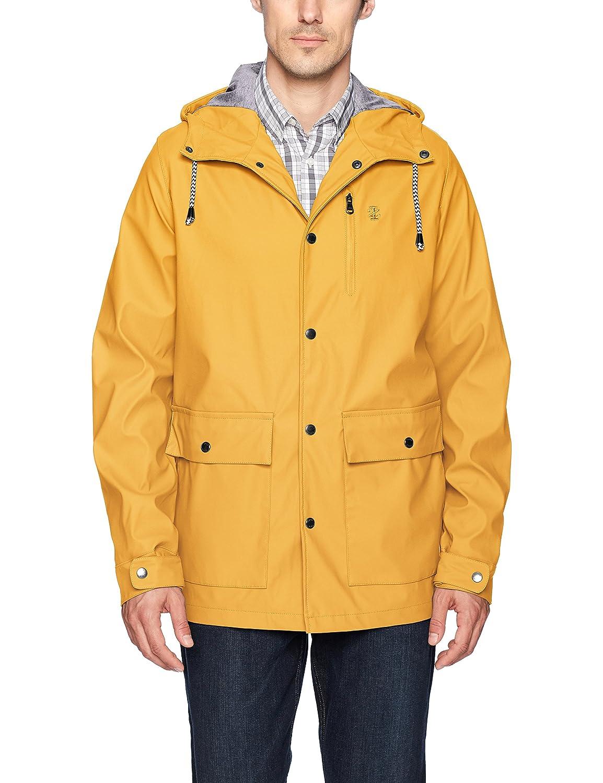 Izod Mens True Rain Slicker Rain Jacket IZOD Mens Outerwear IZ7001