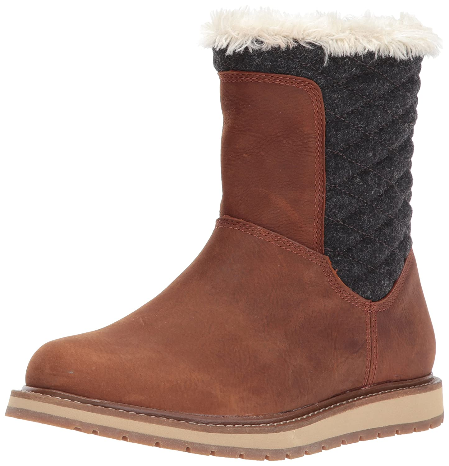 Helly Hansen Women's Seraphina Winter Boot B01N2AUFYK 6.5 B(M) US|Barley/Coffee Bean/Angora