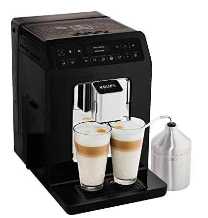 Krups Evidence Coffee Machine Bean To Cup Machine Black Automatic