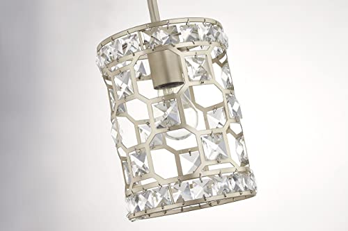 Fifth and Main WL-2255 Paris 1 Light Mini Pendant, Champagne Gold