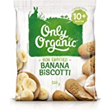 Only Organic Banana Biscotti 10+ Months - 100g