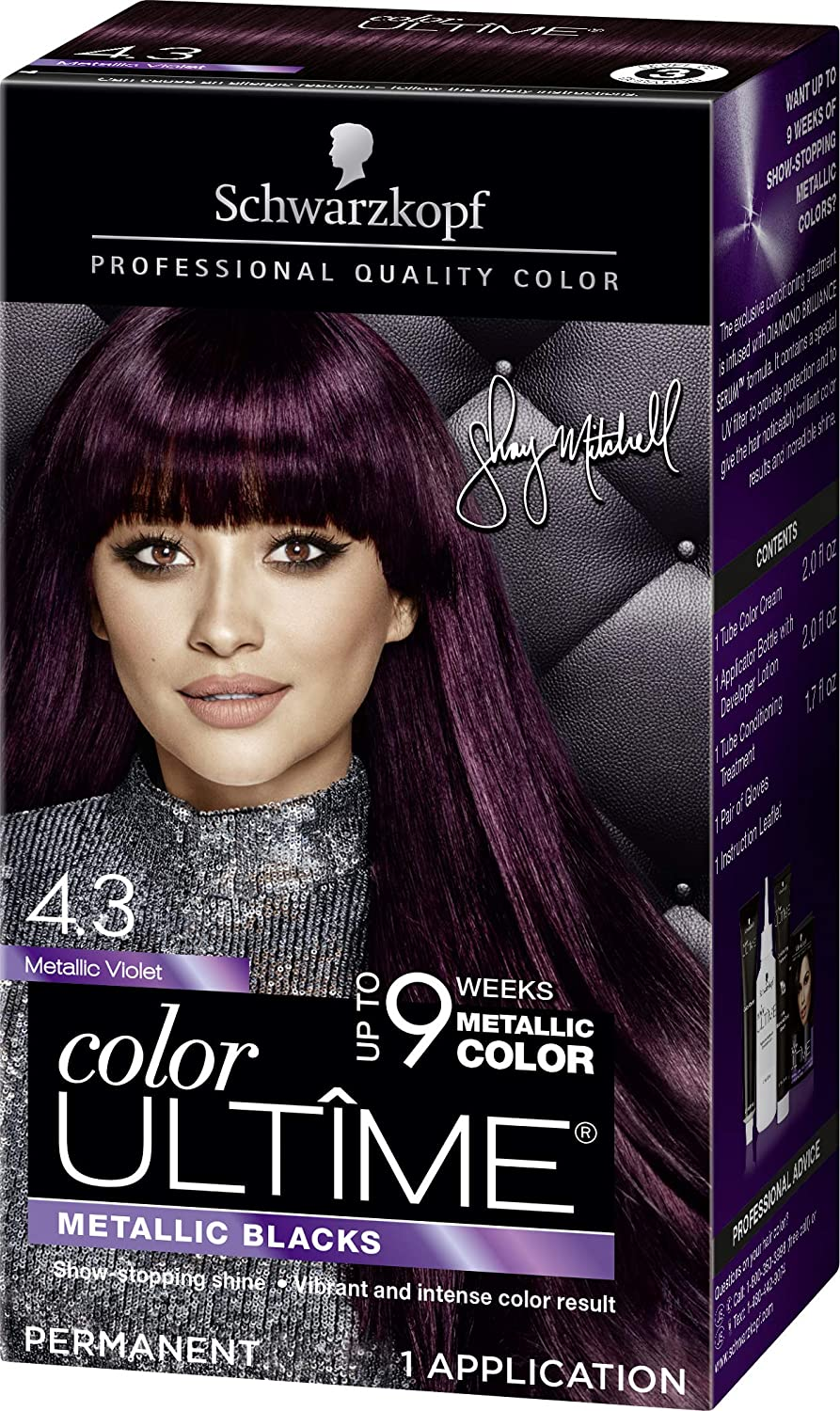 8ca98d2f19848e Amazon.com: Schwarzkopf Color Ultime Metallic Permanent Hair Color ...