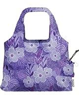 ChicoBag Compact Reusable Bag  |  VITA Purple Blooms Collection
