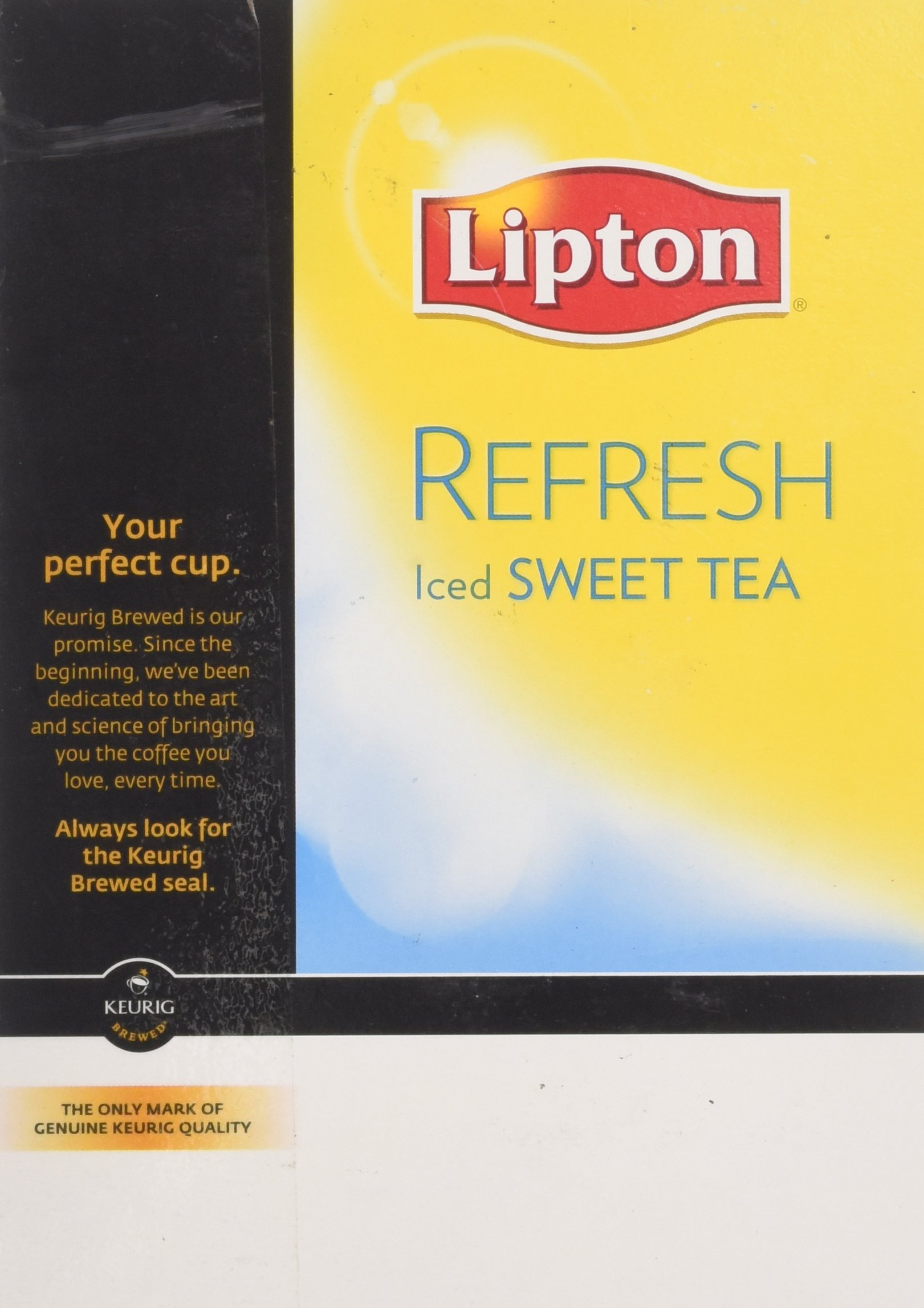 Lipton Refresh Iced Sweet Tea K-Cup Portion Pack for Keurig Brewers, 88 Count by Lipton