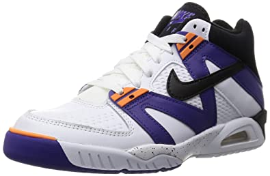the latest ca093 52fca Nike Men s Air Tech Challenge III White Purple Orange 749957-102 (Size