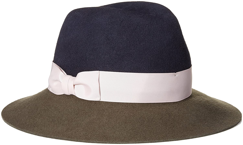 c0eba4e58504f ... germany genie by eugenia kim womens florence wool felt wide brim fedora  hat olive midnight one