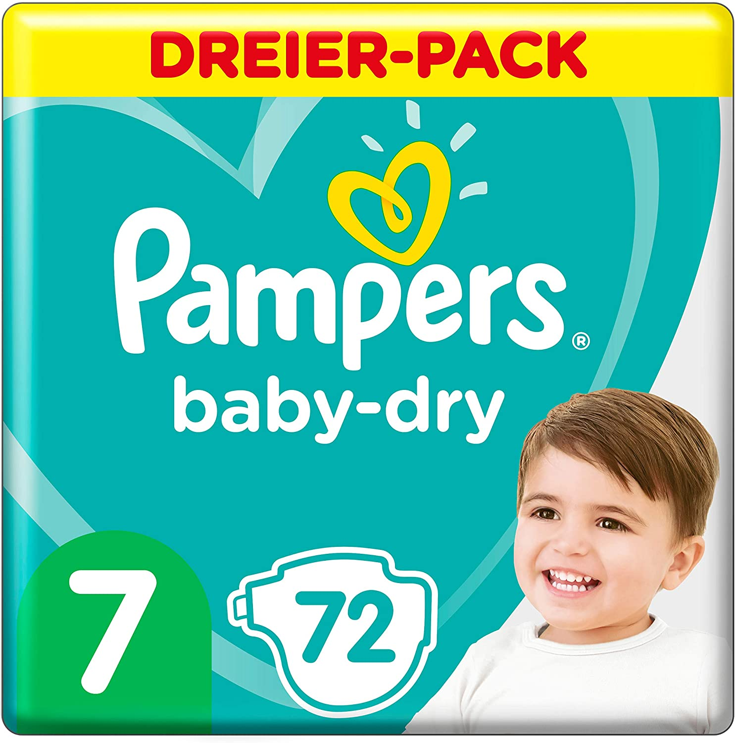 Pampers Baby Dry Gr.7 Extra Large 15+kg Doppelpack
