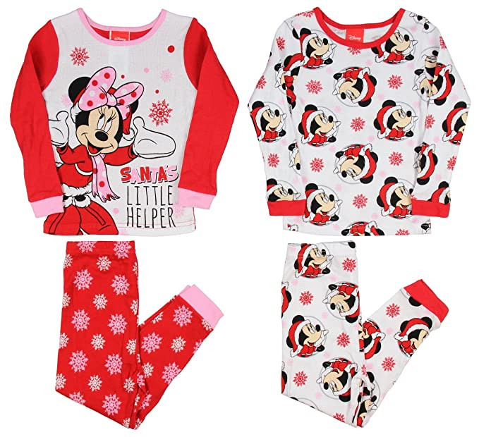 85c28ddd5fe4 Disney Minnie Mouse Santa s Little Helper Little Girls 4-Piece ...