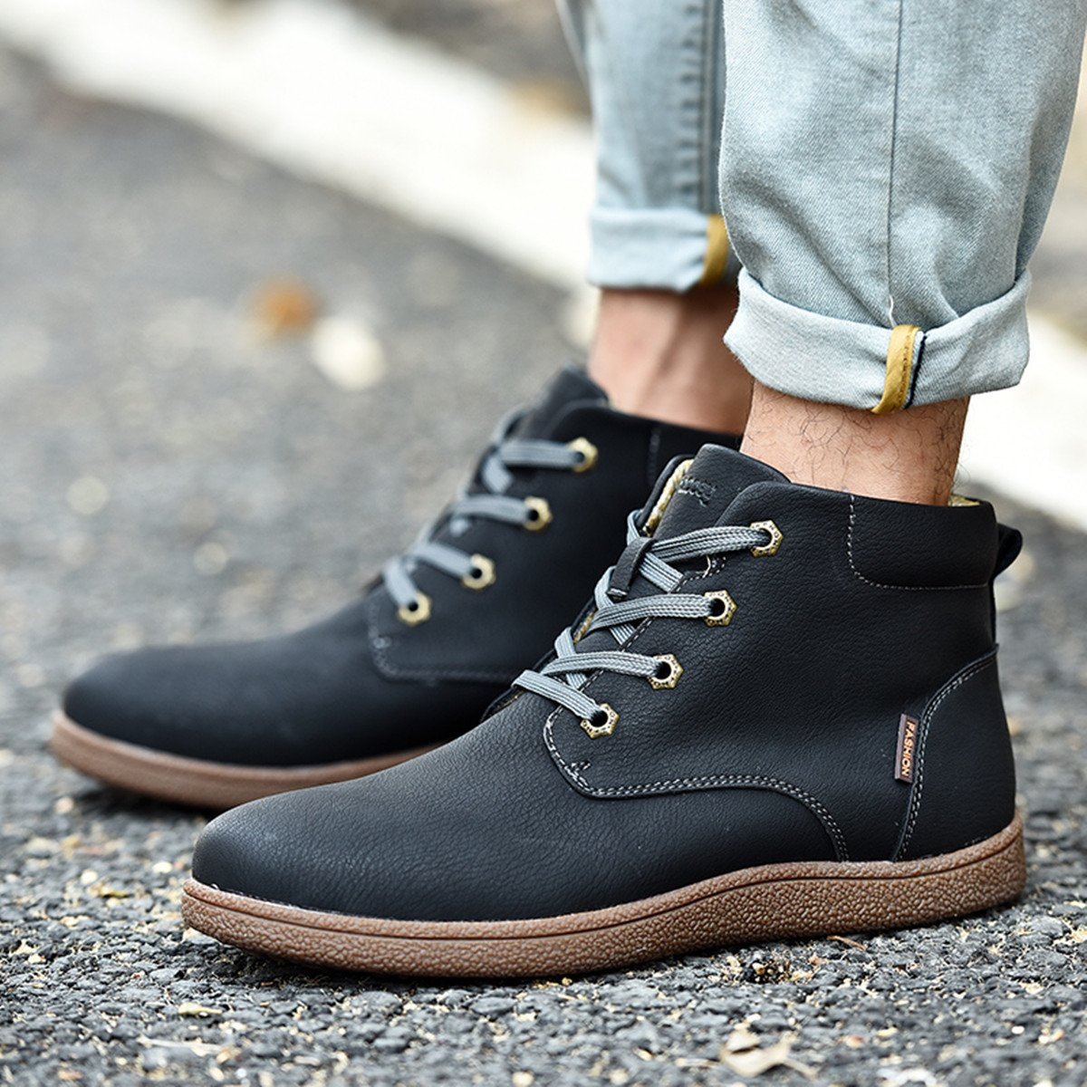 8af4381ffdd Gracosy Chaussure de Ville Homme