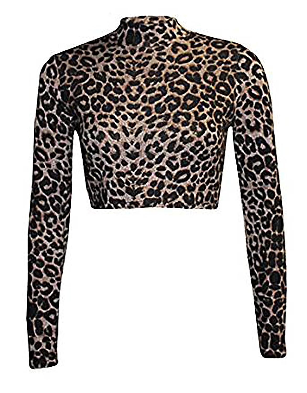 Zara Fashion - Polo - para Mujer Leopard Brown Medium/Large ...
