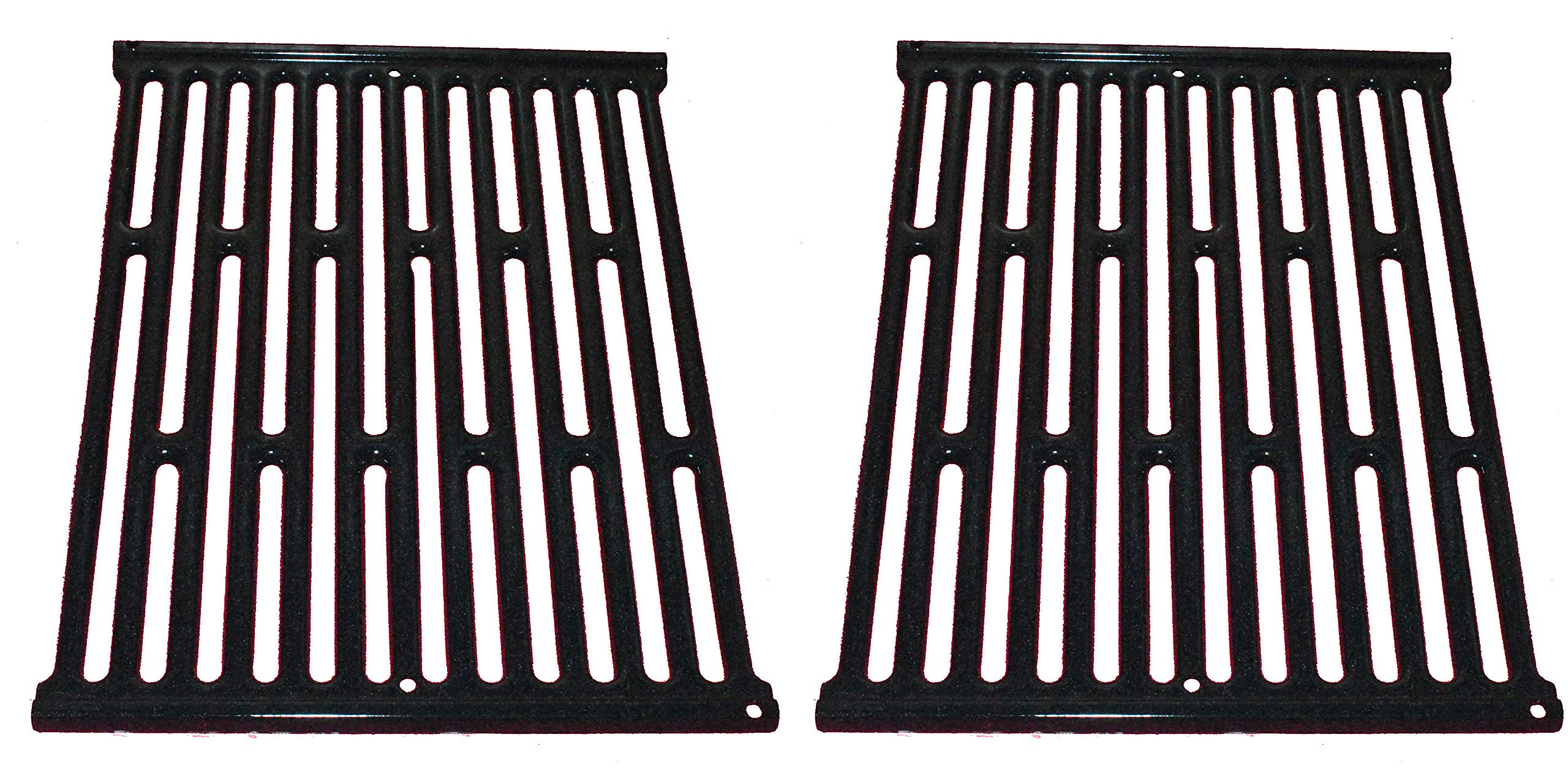 Weber 65904 (11-1/4'' x 15'') 2PK Silv A Porcelain Enameled Grate. Replaces 7523 by Weber
