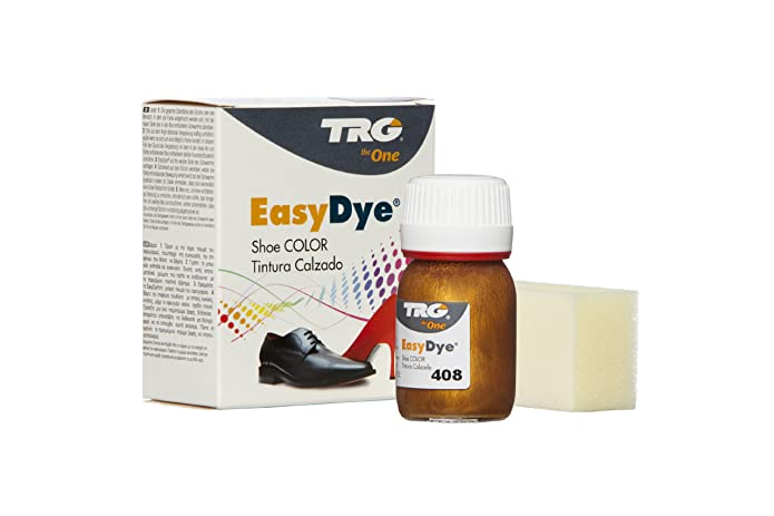 Trg Thoe One Easy Dye - Tinte para zapatos, color Dark Brown/Brown 106, talla 20.00 ml