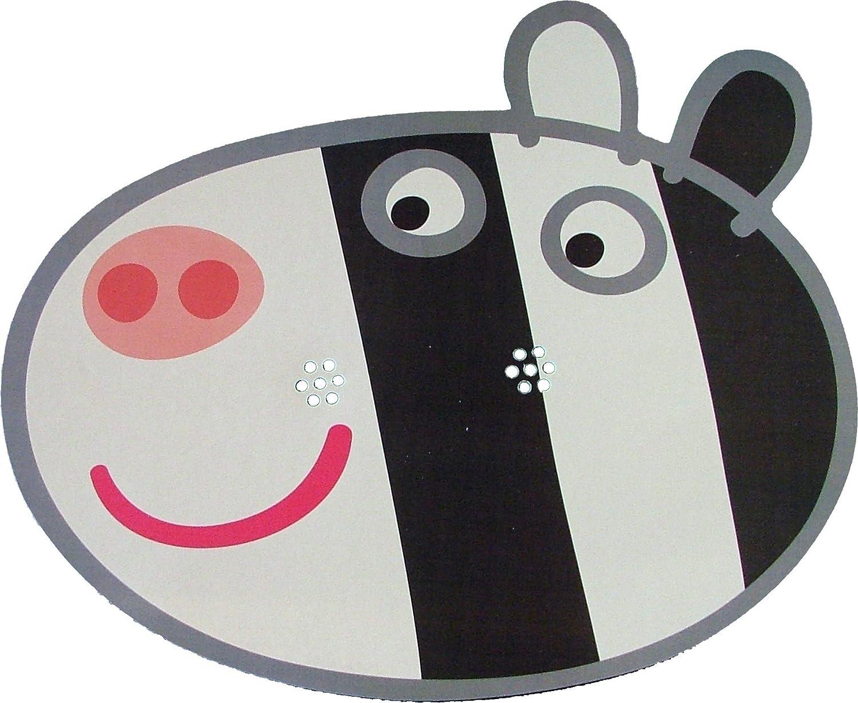 Amazon Com Peppa Pig Zoe Zebra Card Face Mask Toys Games