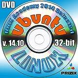 Ubuntuの14.10のLinuxのDVDの32ビットフルインストールには、無料のUNIXアカデミー評価試験、