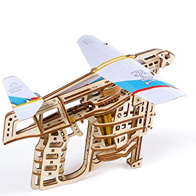 S.T.E.A.M. Line Toys UGears Models 3-D Wooden Puzzle - Mechanical Flight Starter: Toys & Games