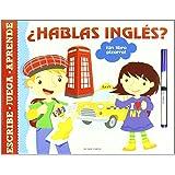 ¿Hablas inglés?: ¡Un libro pizarra! (Luna de papel)