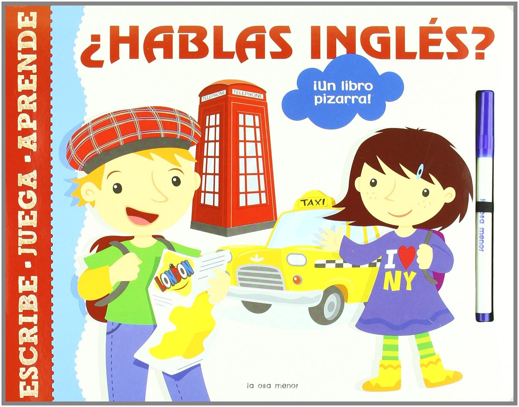Hablas inglés?: ¡Un libro pizarra! (Luna de papel): Amazon ...