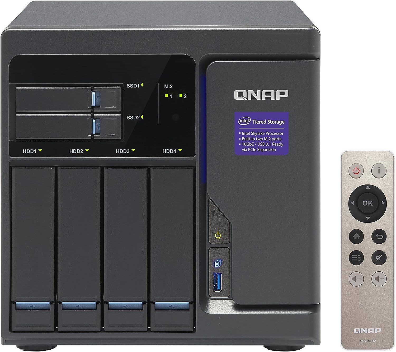 QNAP TVS-682 Ethernet Torre Negro NAS - Unidad Raid (Unidad de ...