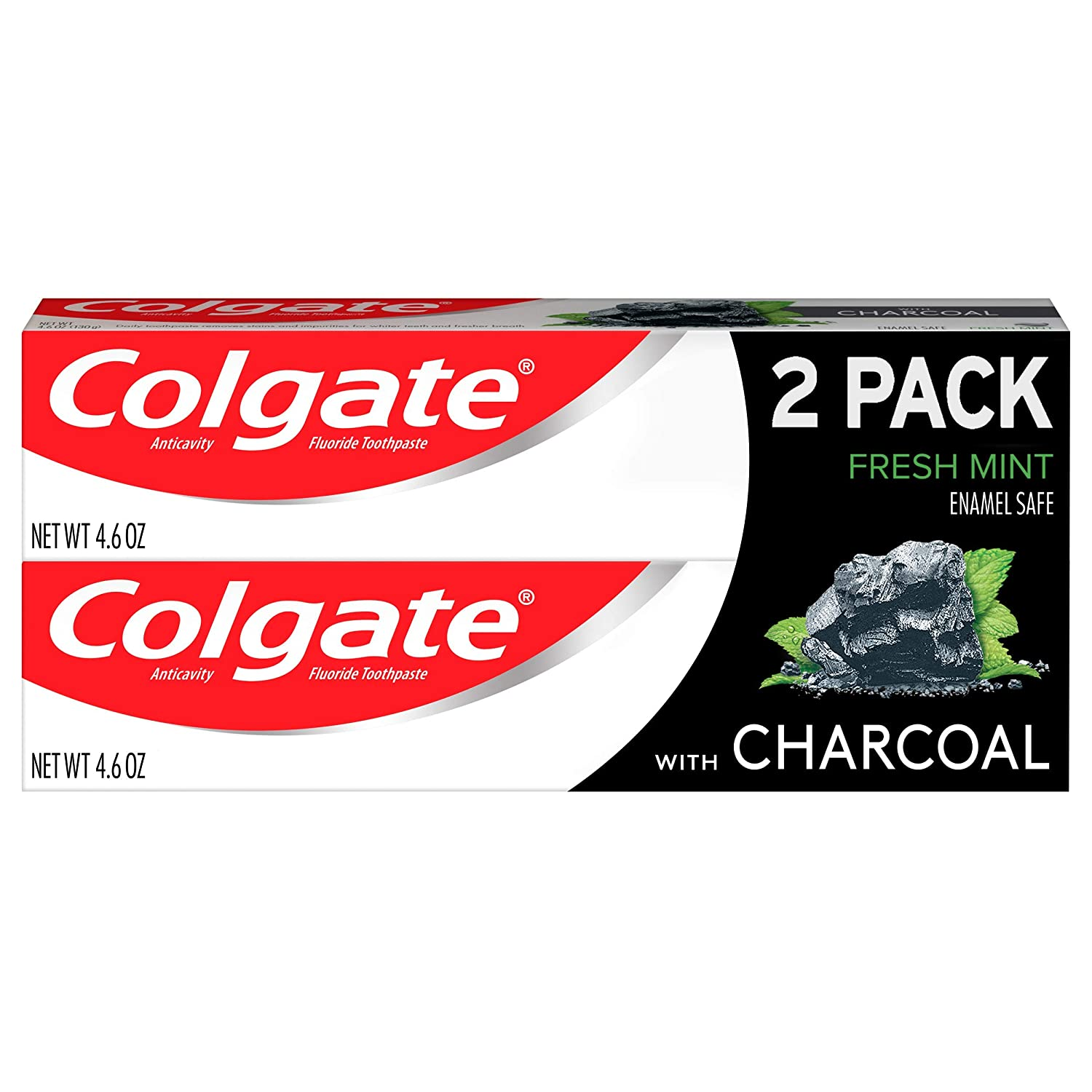 Amazon Com Colgate Charcoal Teeth Whitening Toothpaste With